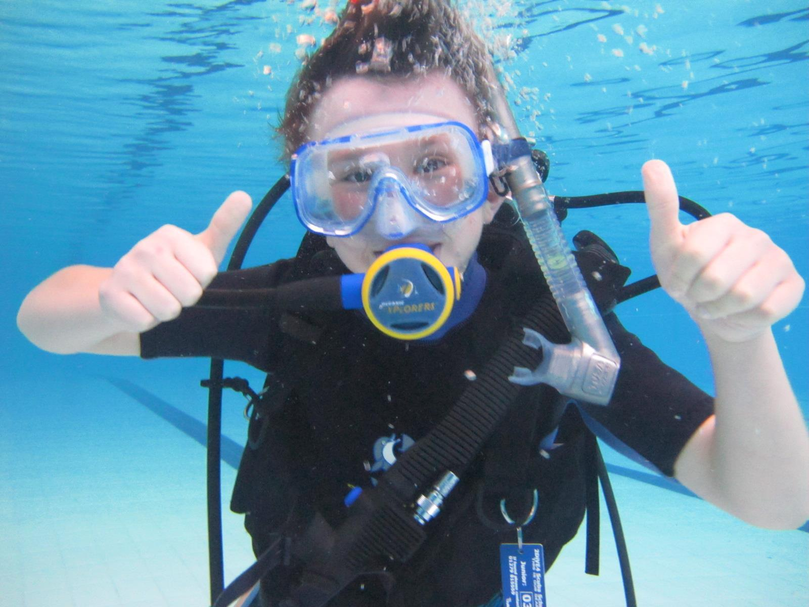 February 2016 try dives at bishops stortford college for Swimming pools in bishops stortford