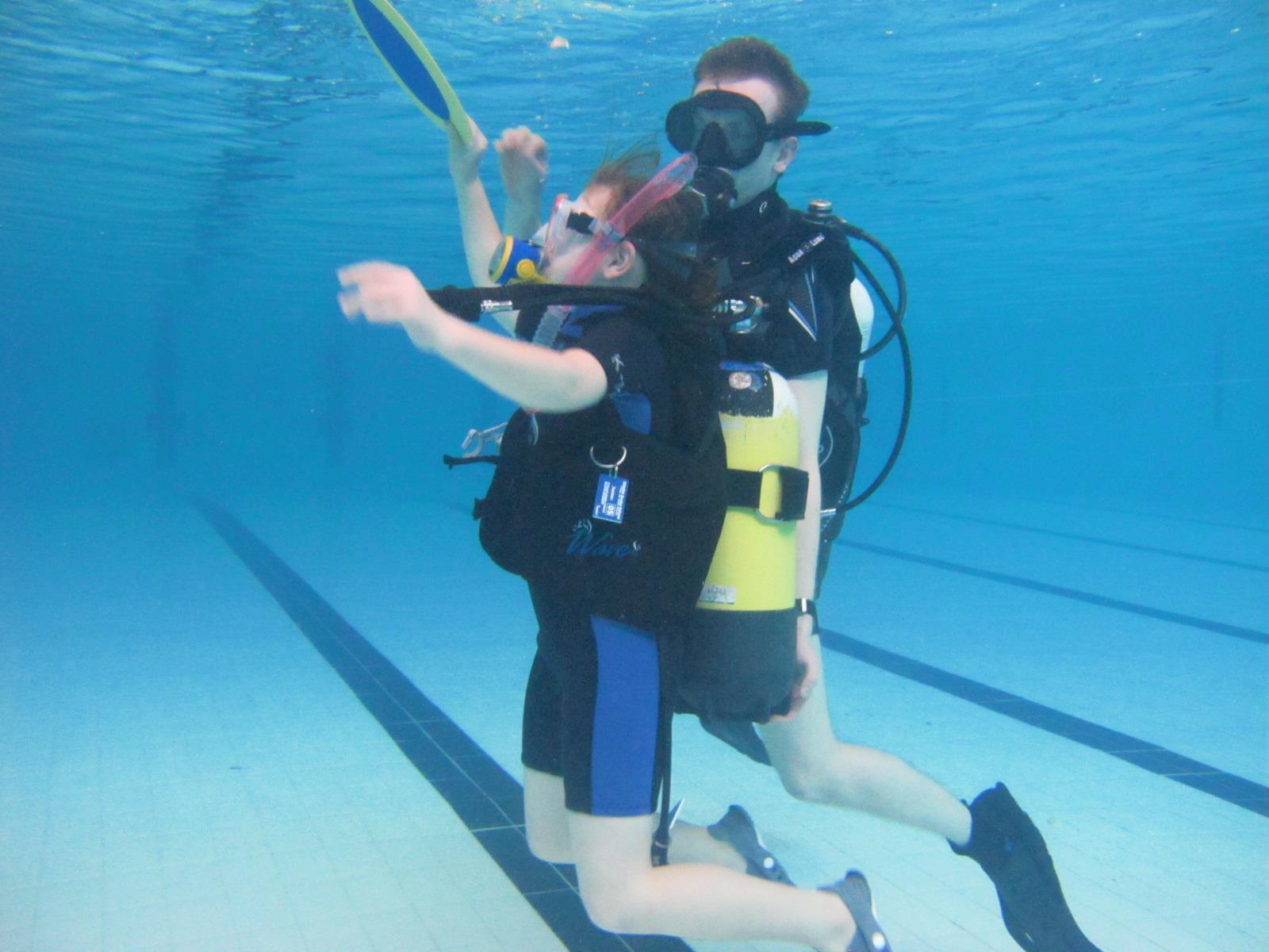 February 2016 try dives at bishops stortford college - Swimming pools in bishops stortford ...