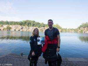 1 New PADI Advanced Open Water and Dry Suit Diver at 2DiVE4