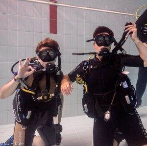 8 New PADI Try Dive Participants
