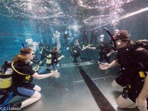 4 New PADI Try Dive participants at 2DiVE4 - April 2019