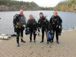 2 New PADI Open Water Divers at 2DiVE4 - October 2017