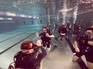 10 New PADI Open Water Referral Divers - August 2018