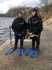 2 New PADI Advanced Open Water Divers at 2DiVE4 - Feb 2020