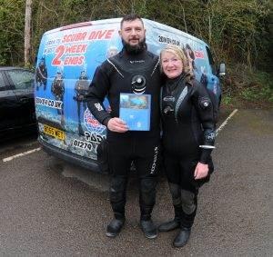 1 New PADI Wreck Diver - March 2018