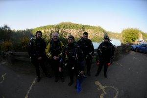 4 New PADI Search & Recovery Divers at 2DiVE4 - May 2018