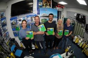 5 New PADI Enriched Air Divers at 2DiVE4