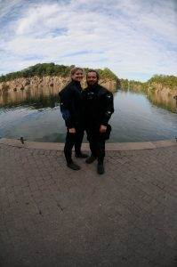 A New PADI Dry Suit Diver at 2DiVE4