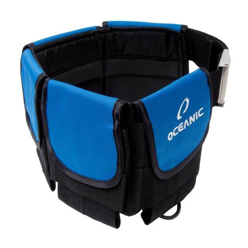 Oceanic Deluxe Weight Belt - Blue