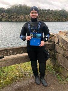 New PADI Dry Suit Diver at 2DiVE4 - March 2020