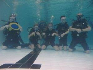 6 New Try Dive participants - October 2019
