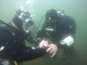 4 New PADI Underwater Navigation Divers - August 2017