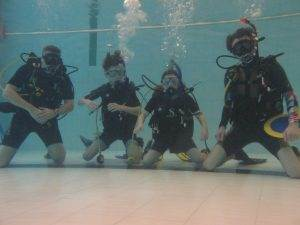 5 New Try Dive Participants at 2DiVE4
