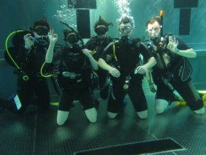 3 New PADI Open Water Referral Students