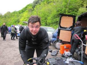 3 New PADI Dry Suit Divers at 2DiVE4 - May 2017