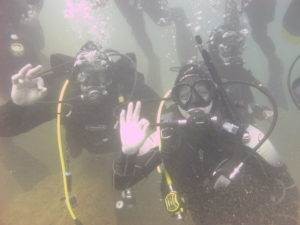 Nina Kettlety - New PADI Open Water Diver