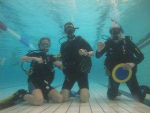 2 New Discover Scuba Diving Participants - June 2017