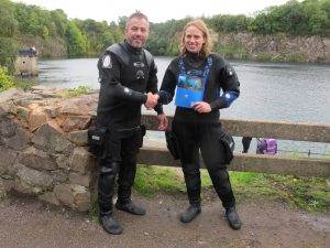 New PADI Wreck Diver at 2DiVE4 - September 2017