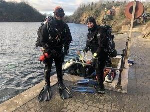 1 New Dry Suit Diver at 2DiVE4 - Jan 2020
