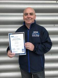 New PADI Instructor at 2DiVE4 - March 2020