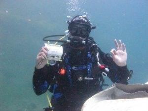 2DiVE4 Divemasters 100th Dive