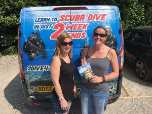1 New PADI Open Water Diver at 2DiVE4 - June 2018
