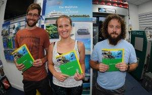 3 New PADI Enriched Air Divers at 2DiVE4 - August 2018