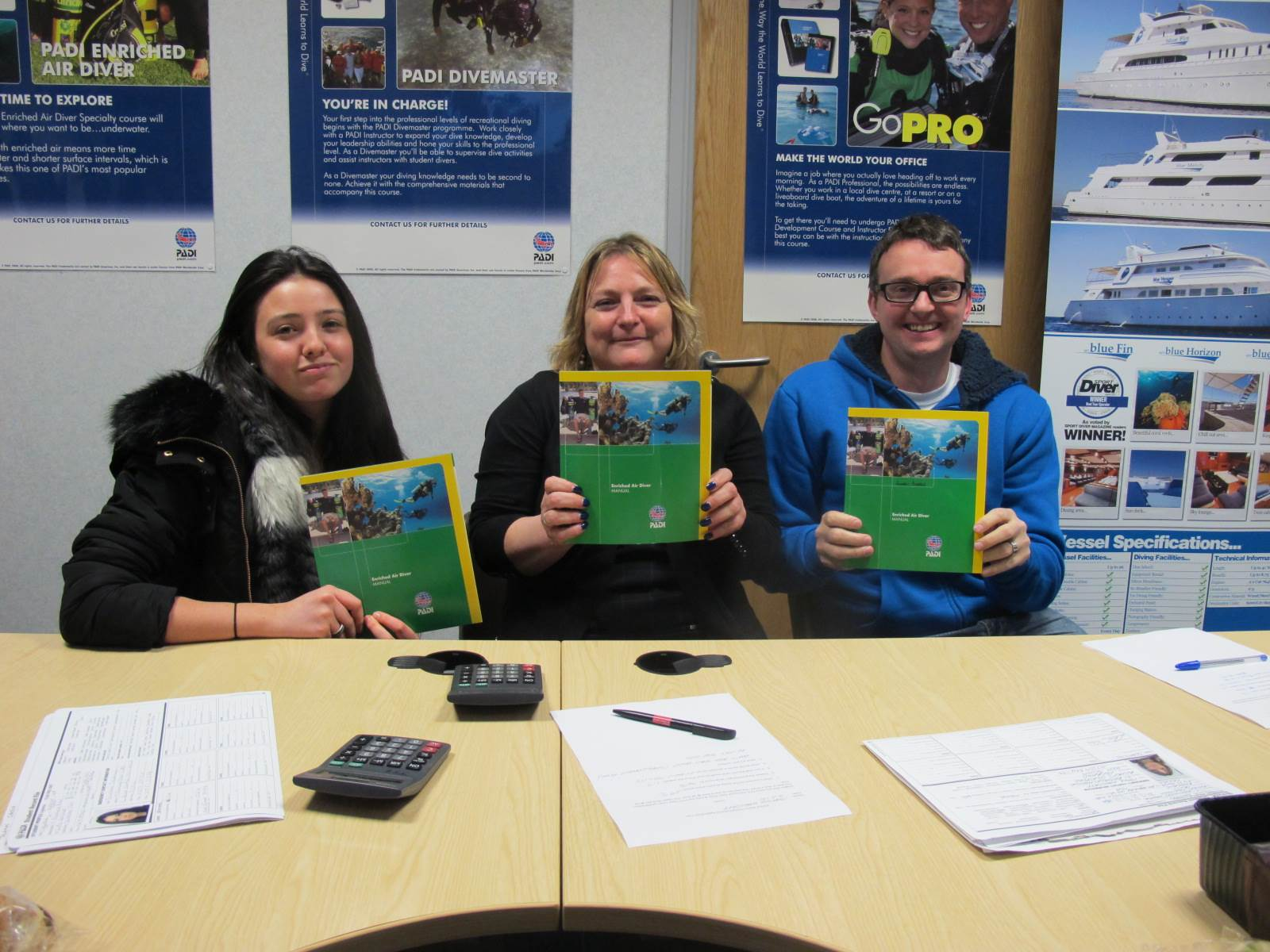 Essex PADI Scuba Diving Training for Chelmsford divers
