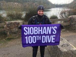 100th Dive for 2DiVE4 Team member Siobhan Tuson