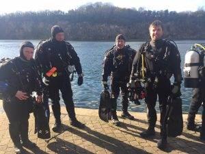 New PADI Wreck Divers at 2DiVE4 = Feb 2018