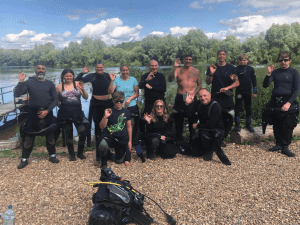 6 New PADI Open Water Divers at 2DiVE4 - August 2020