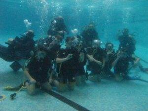Try Dive session for Inca Scout Group - Group 1