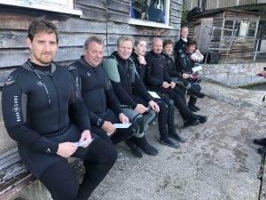 7 New PADI Open Water Divers at 2DiVE4 - September 2019