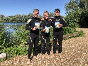 3 New PADI Open Water Divers at 2DiVE4