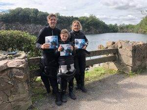 3 New PADI Advanced Open Water Divers at 2DiVE4