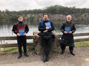 3 New PADI Navigation Divers at 2DIVE4