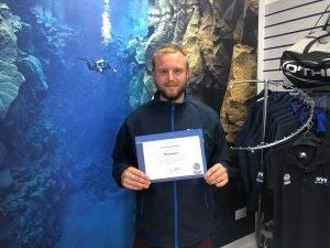 1 New PADI Qualified Divemaster at 2DiVE4