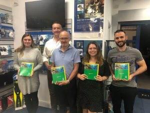 5 New PADI Enriched Air Divers at 2DiVE4