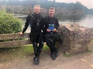 1 New PADI Wreck Diver at 2DiVE4 - August 2019